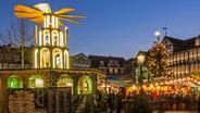 Weihnachtsmarkt in der Altstadt von Wolfenbüttel © Stadt Wolfenbüttel