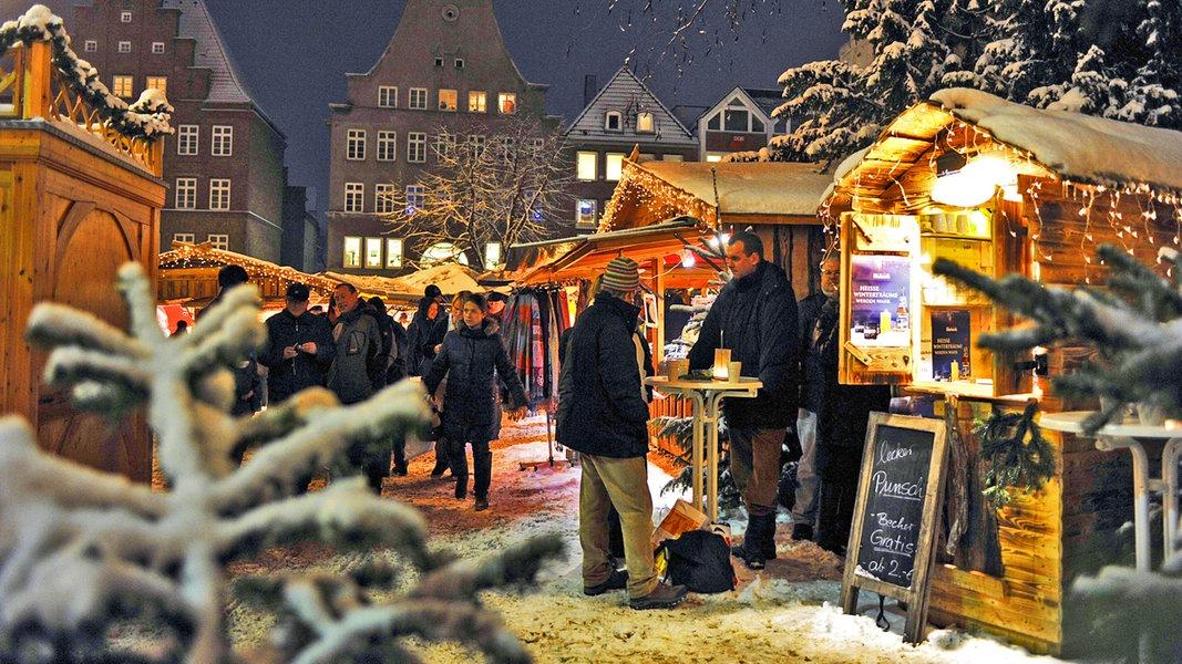 Weihnachtsmarkt Elmshorn.Zur Sache Weihnachtsmärkte Verzaubern Den Norden Ndr De Ndr 1