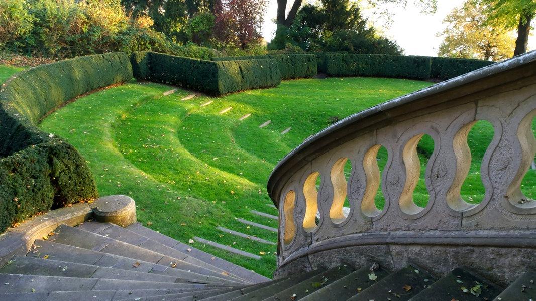 Park An Der Elbe Römischer Garten In Hamburg Ndrde Ratgeber