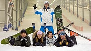 Wintersportler im Alpincenter Wittenburg © alpincenter Hamburg-Wittenburg