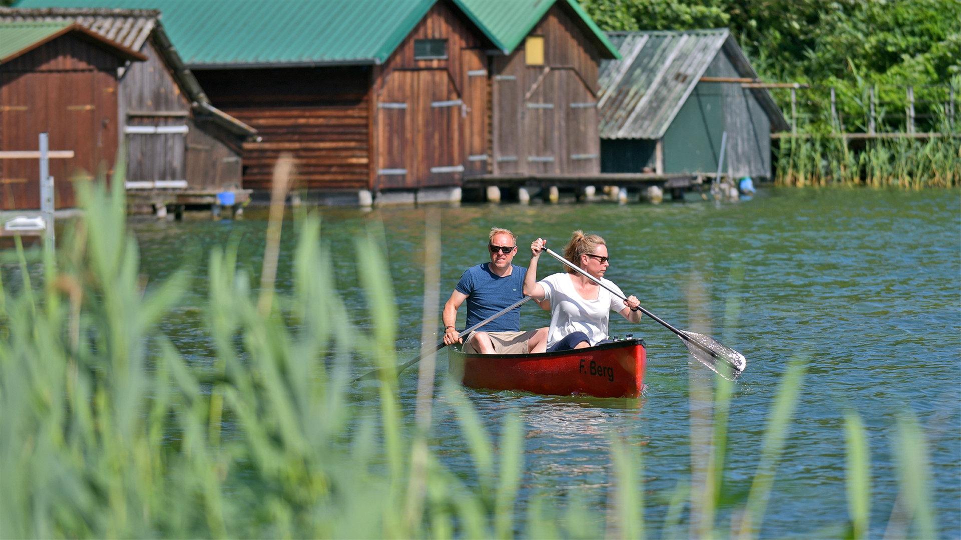 Abenteuer Kanu Tour Die Feldberger Seenlandschaft