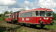 Triebwagen des Moorexpress © EVB / Moorexpress