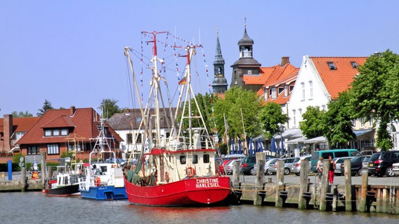 Alter Hafen in Tönning © imago images Foto: Paul von Stroheim