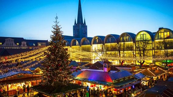 Wie Lange Hat Der Weihnachtsmarkt Auf.Weihnachtsmärkte In Lübeck 2018 Ndr De Ratgeber Reise
