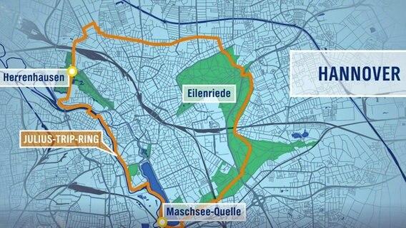 Borkum Karte Fahrradwege.Julius Trip Ring Mit Dem Rad Durch Hannover Ndr De