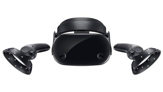 Pressefoto Samsung Odyssey VR-Brille © Samsung