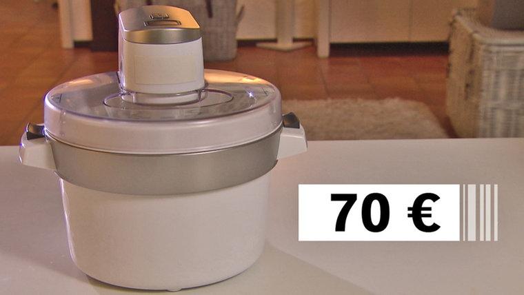 Eismaschine f+ür 70 € von Krups