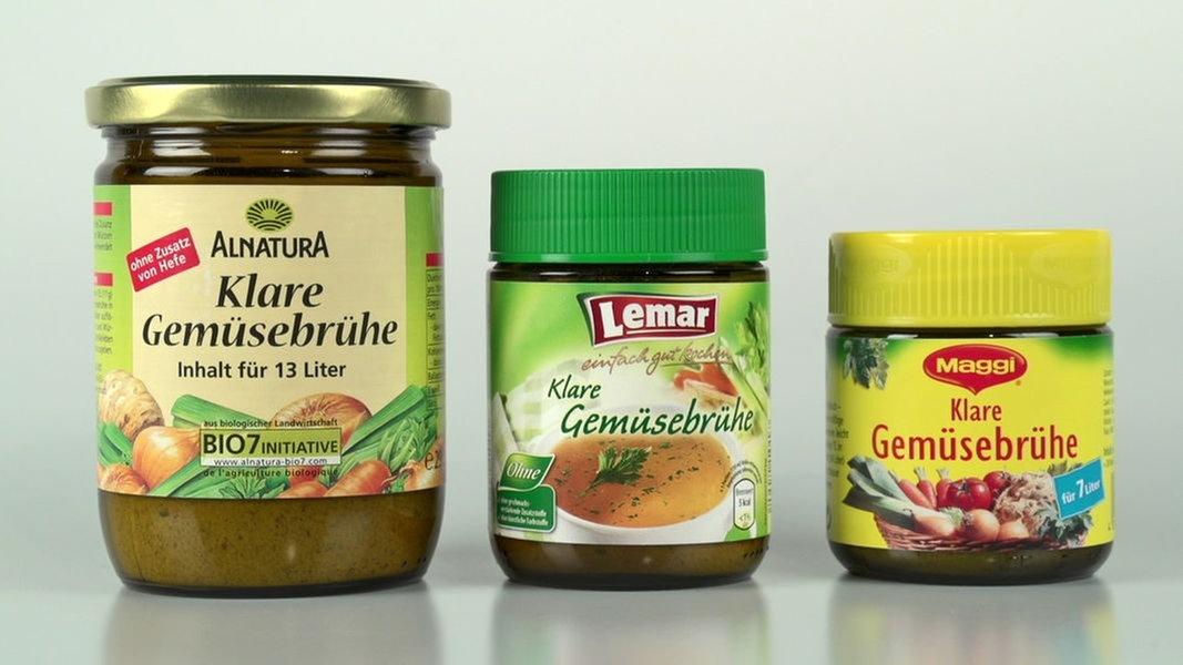 Wie viel Gemüse steckt in der Brühe?   NDR.de - Ratgeber