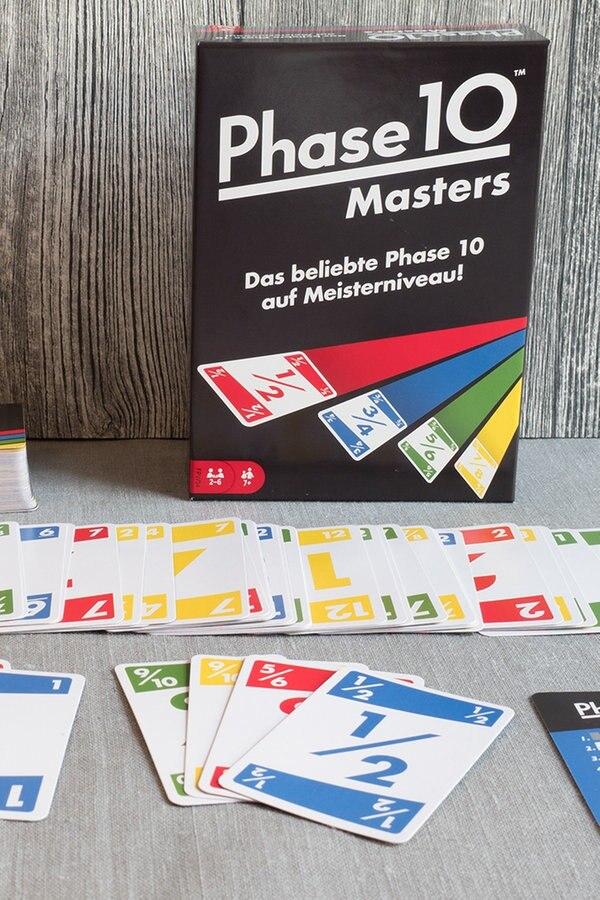Spielanleitung Phase 10 Master
