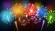Buntes Feuerwerk. © fotolia