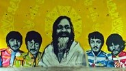 Graffiti der Beatles in Rishikesh © ARD Foto: Silke Diettrich