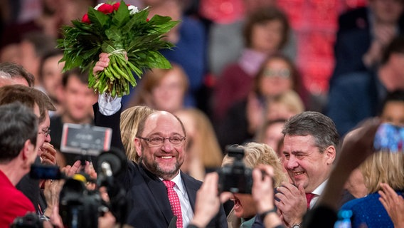 SPD-Chef Schulz laut Umfrage