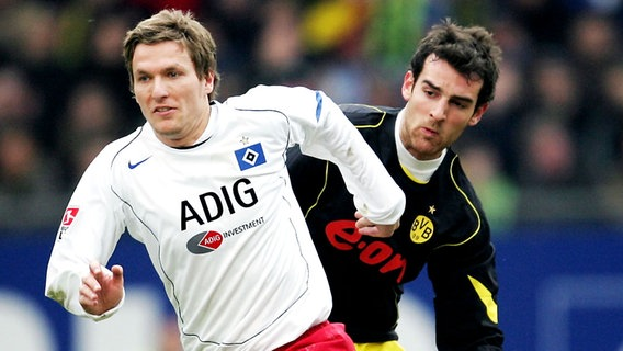 Ex-HSV-Profi Benjamin Lauth (l.) © picture-alliance