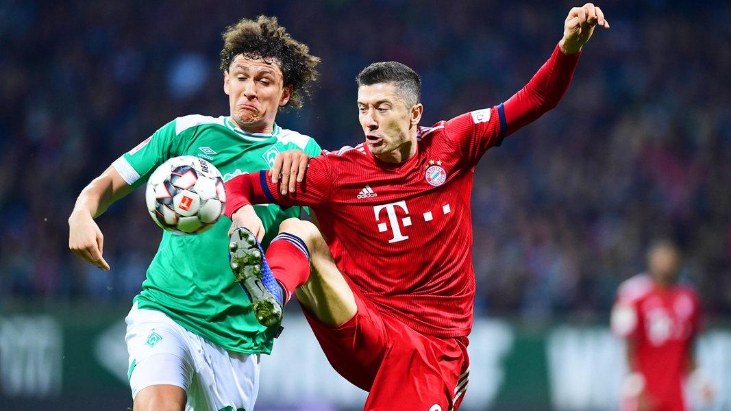 Pokalspiel Bayern Bremen