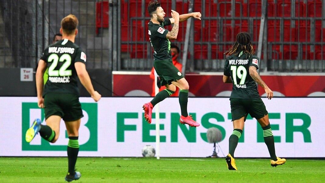 Bundesliga Wolfsburg empfängt Eintracht Frankfurt