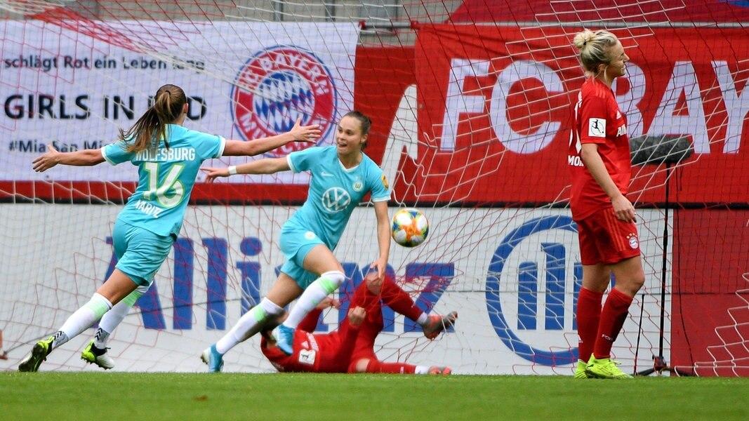 Dfb Pokal Vfl Frauen Gewinnen Beim Fc Bayern Ndr De