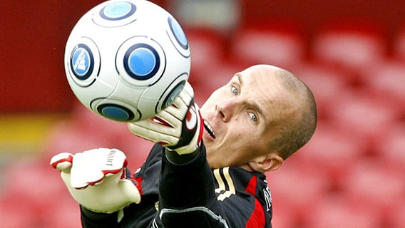 Nationaltorwart Robert Enke © dpa