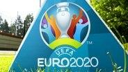 Das Logo der Euro 2020 © imago images/Pro Shots
