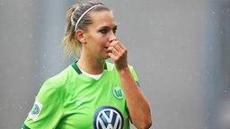 Fußball-Nationalspielerin Lena Goeßling vom VfL Wolfsburg  © imago/Hübner Foto: Hübner