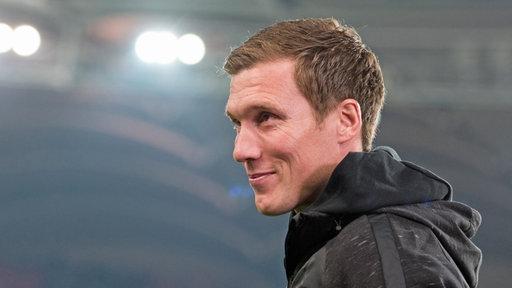 Der neue HSV-Trainer Hannes Wolf