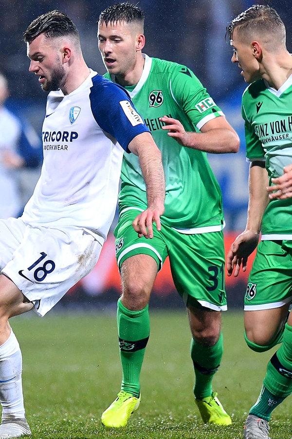 Zweite Bundesliga: Hannover 96 verliert beim VfL Bochum