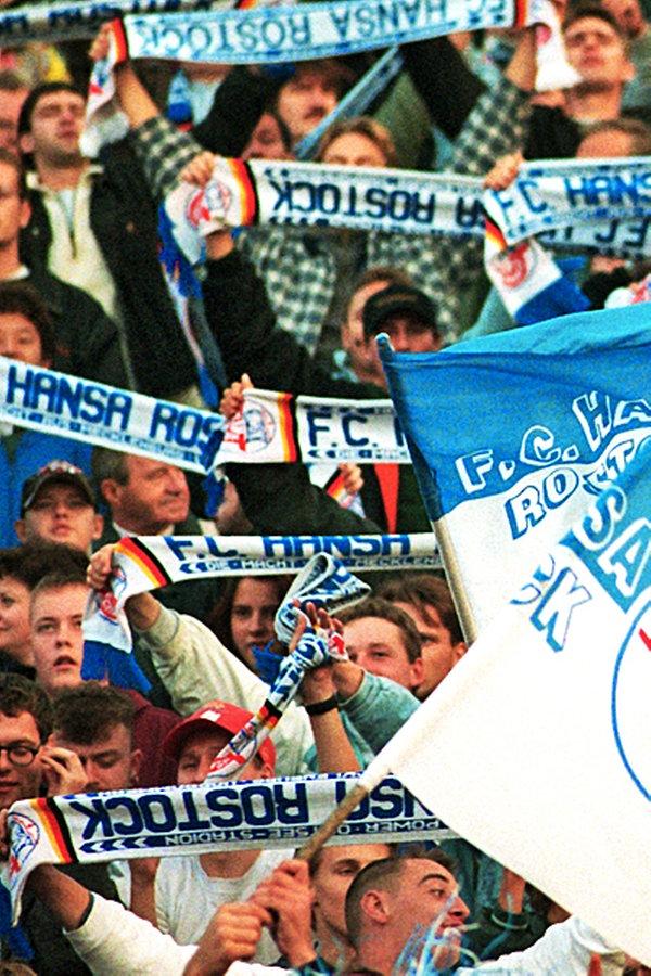 Eintracht Frankfurt Programm 1995//96 FC Hansa Rostock
