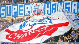 Hansa-Fans; Rechte: imago