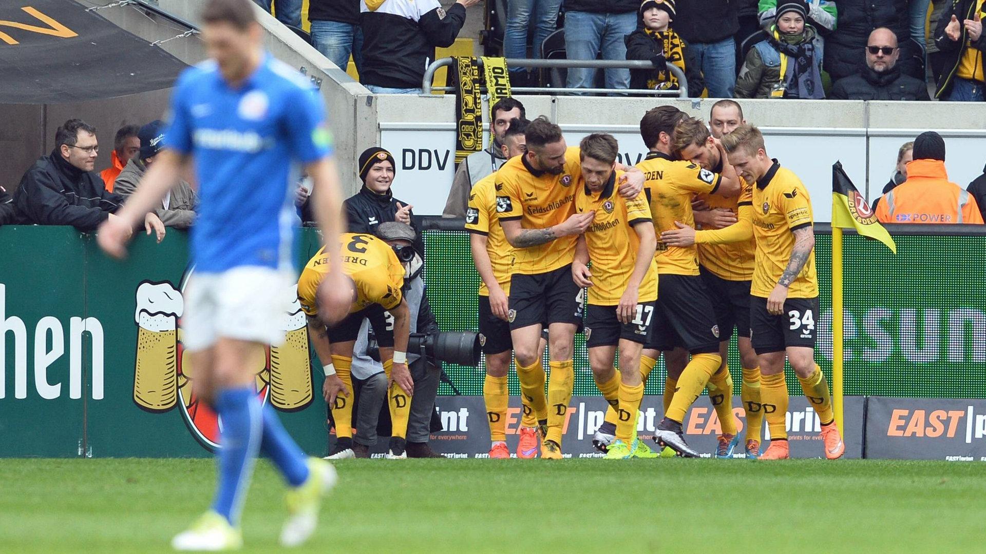 Hansa Rostock Dynamo Dresden Keine Fans Trotzdem Derby Atmosphare Ndr De Sport Fussball
