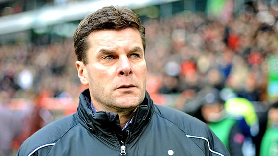 Trainer Dieter Hecking © picture-alliance