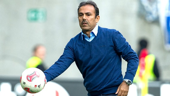 Trainer Jos Luhukay © picture alliance / dpa Foto: Uwe Anspach