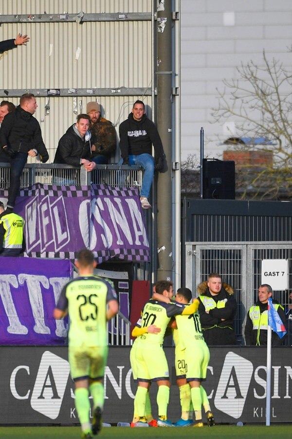 2. Liga: VfL Osnabrück siegt bei Holstein Kiel