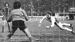 Horst Hrubesch trifft gegen Real Madrid 1980 © picture-alliance / dpa