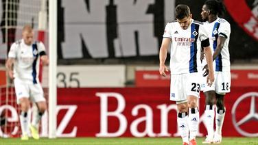 Frust bei den Spielern des HSV | Witters
