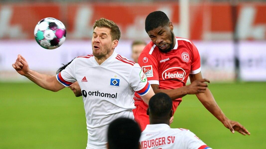 HSV hält die Fortuna auf Distanz