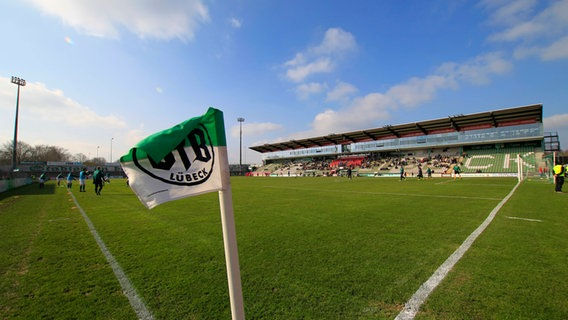 Das Stadion an der Lohmühle des VfB Lübeck © imago images/nordphoto Foto: Tauchnitz