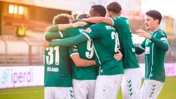 Spieler des VfB Lübeck: © imago images