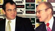 Felix Magath (l.) und Willi Lemke © picture-alliance