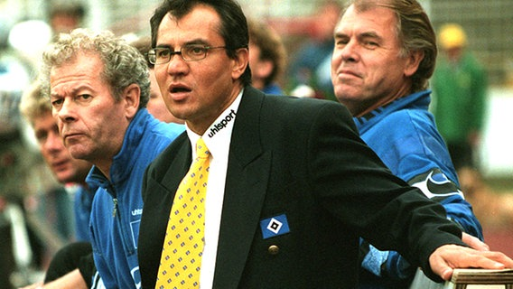 HSV-Coach Felix Magath