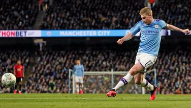 Kevin De Bruyne of Manchester City © imago images/Sportimage