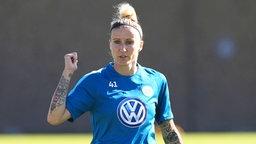 Anja Mittag vom VfL Wolfsburg  © imago/regios24