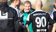 Trainer Ronny Stamer vom MSV Pampow © imago/objectivo