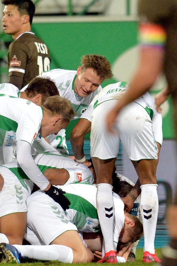 FC St. Pauli verliert bei Greuther Fürth