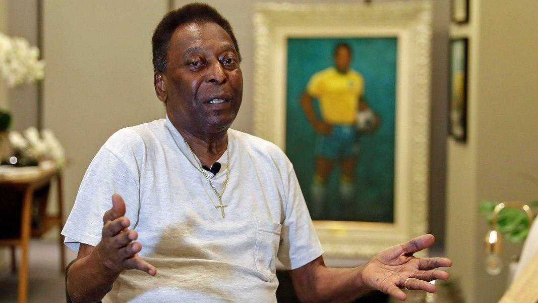 Pelé feiert 80. Geburtstag - Uwe Seeler gratuliert