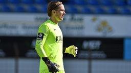 Meppens Torwart Luca Plogmann