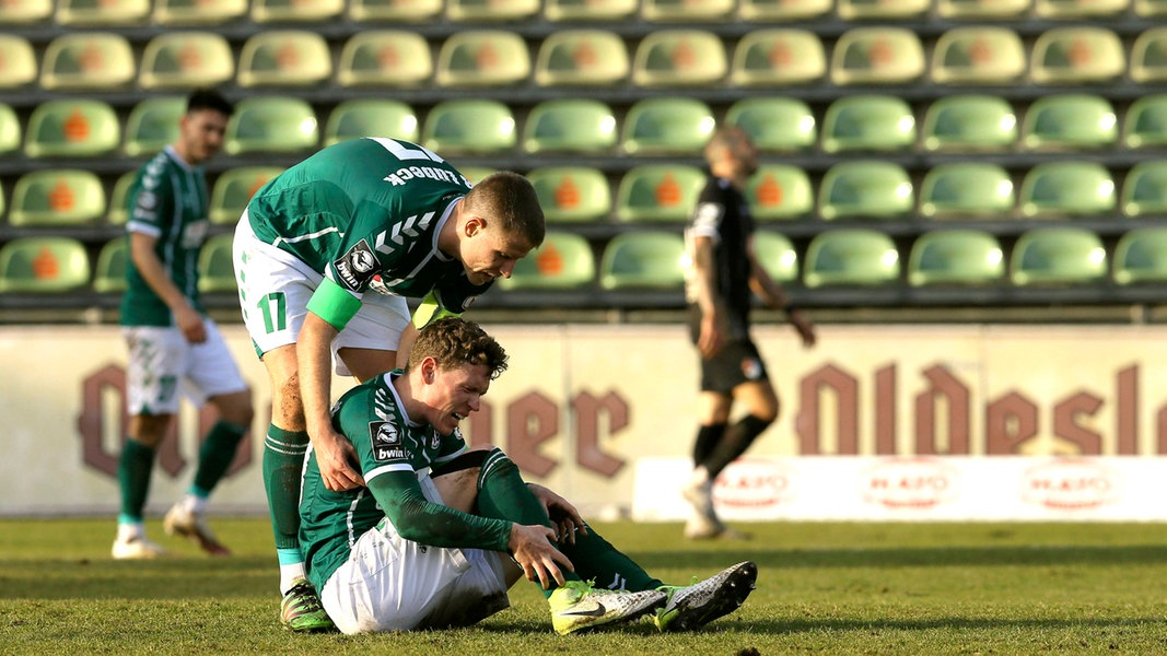 Krach beim VfB Lübeck: Riedel vorläufig suspendiert - NDR.de