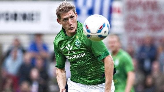 Kevin Schindler draagt een Werder Bremen-shirt (foto uit 2011) © imago images / Moritz Müller Foto: Moritz Müller