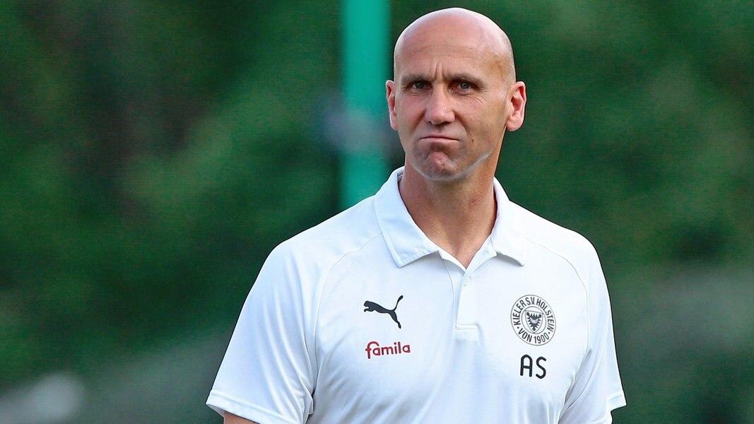 Holstein-Trainer Schubert zum Trainingslager