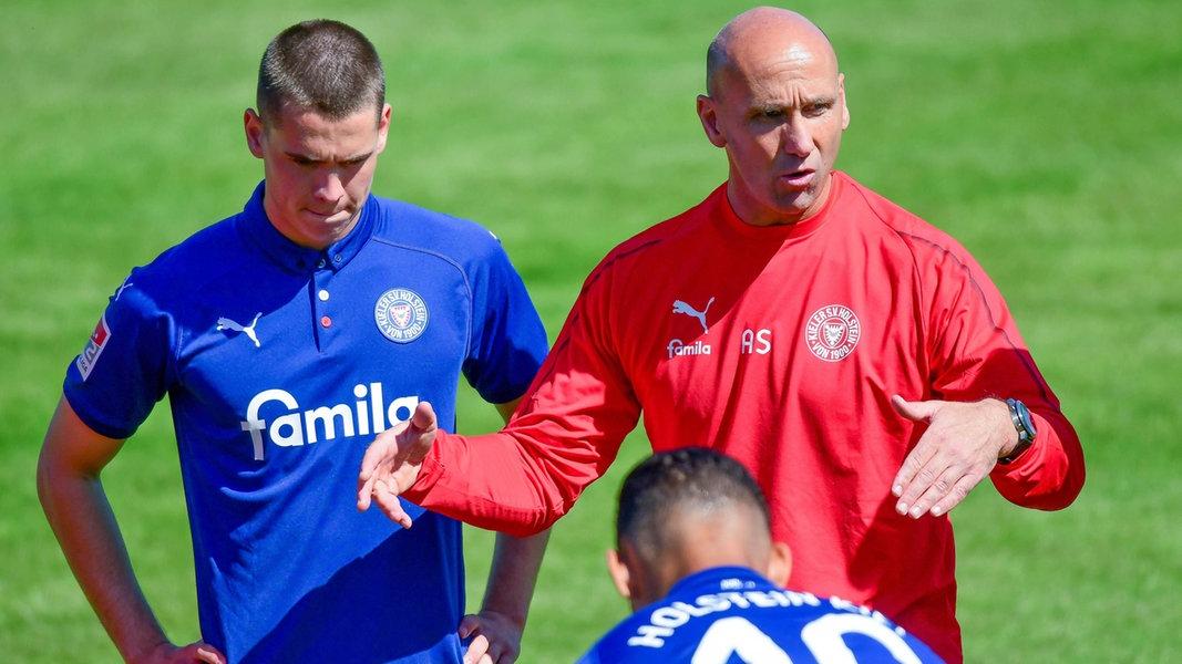 """Kiels Coach Schubert: """"Das ist eine gute Truppe"""""""