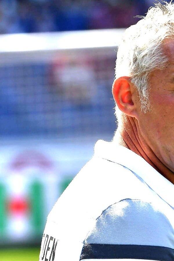 96-Coach Slomka nur mit Hälfte zwei zufrieden