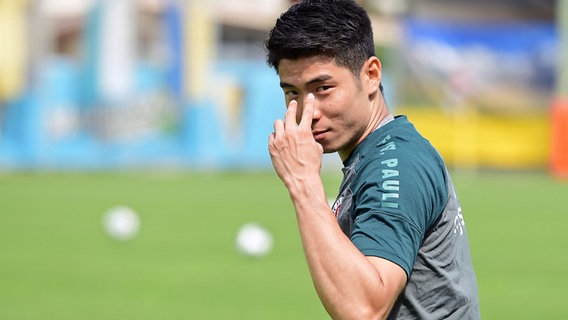 Yi-Young Park vom FC St. Pauli